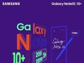 Galaxy Note10前世今生