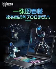 一张图看懂掠夺者战斧700游戏本截图