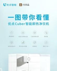 优点 Cuber 智能即热净饮机上架小米有品众筹