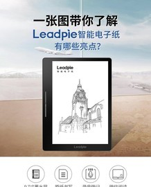 一张图带你了解Leadpie智能电子纸有哪些亮点?