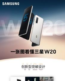 """折叠屏标杆 """"心系天下""""三星W20 5G正式发布"""