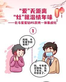 """北斗星星钻A5蒸烤一体集成灶:""""爱""""无距离""""灶""""就温情年味截图"""