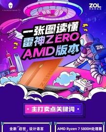 图说:一张图读懂雷神ZERO AMD版本截图