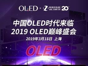 巅峰盛会:OLED时代来临