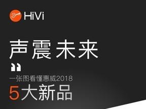 惠威2018年度新品发布会