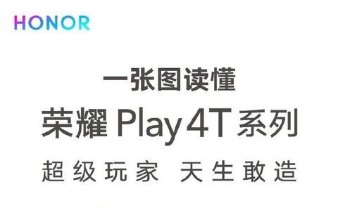 配置和价格都很香 一张图看懂荣耀Play4T系列