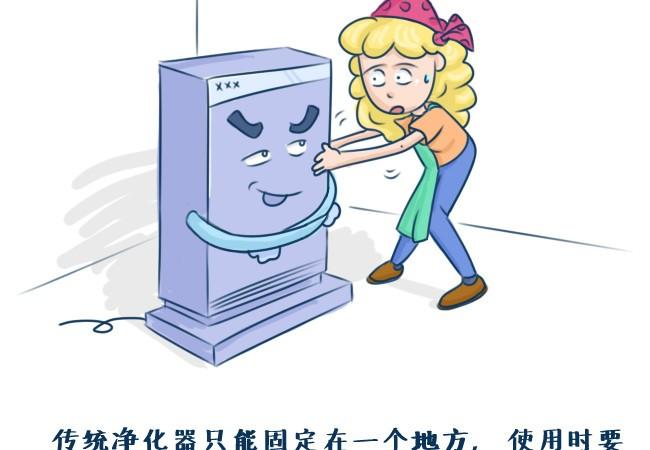当空净遇到机器人 全屋净化可以这么玩