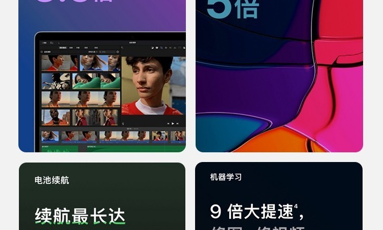 一图看懂苹果最新发布会所有亮点!