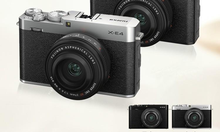 富士X-E4:外形文艺、性能强悍的无反新品