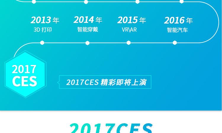 2017年CES最值得关注的技术大盘点!